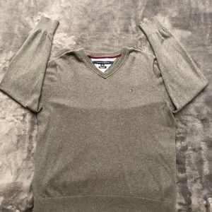Tommy Hilfiger Sweaters - Tommy Hilfiger-V Neck Pullover Sweater Mens XL